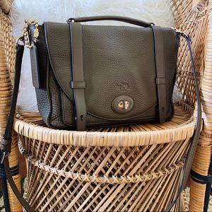 Coach Olive Green Satchel Shoulder Bag